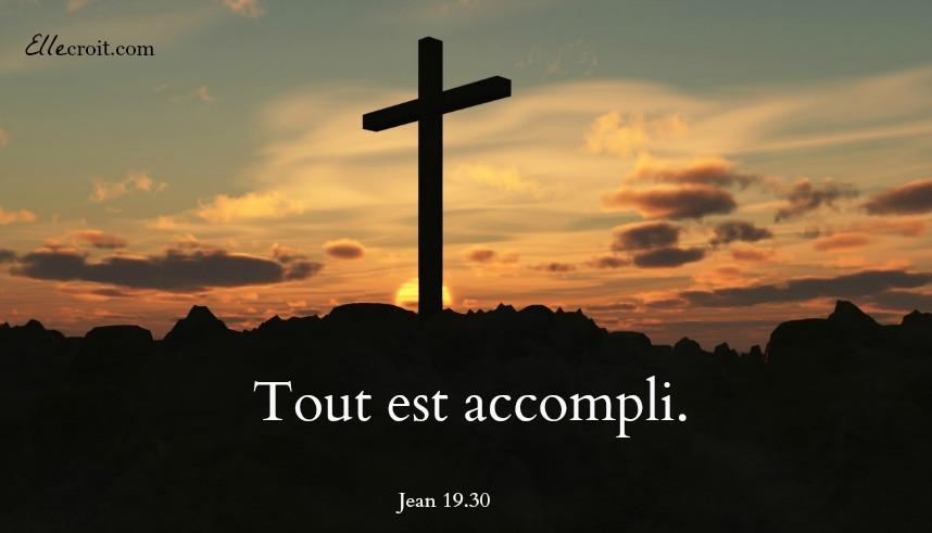 Jean 19.30 croix ellecroit.com