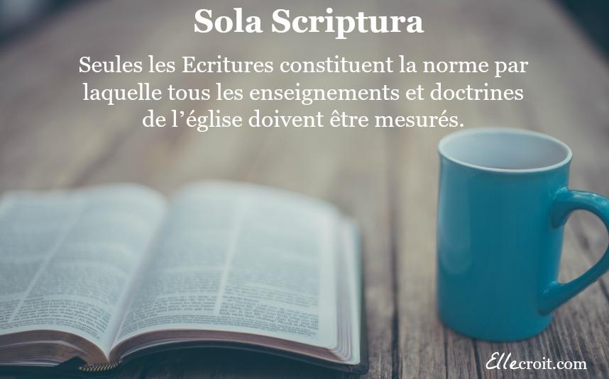 Sola scriptura ellecroit.com