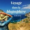 Voyage dans la blogosphère - Avril 2019