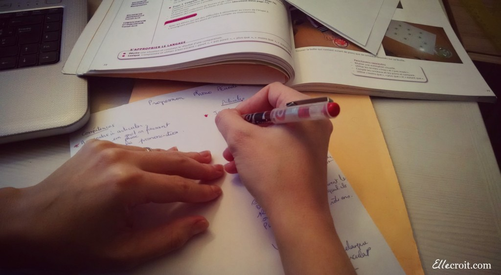 préparation des cours ellecroit.com