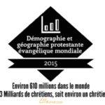 Statistiques protestants évangéliques 2015 – infographie