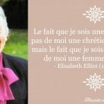 Elisabeth Elliot, une femme différente