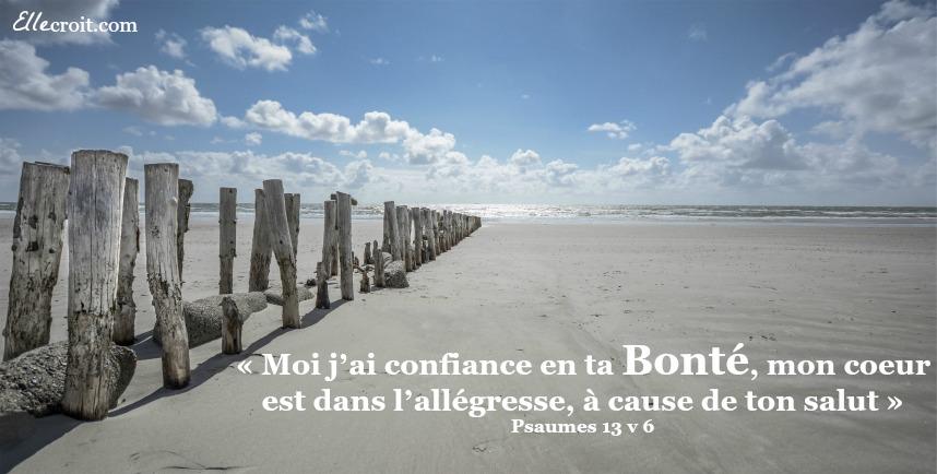 bonté psaumes 13v6 ellecroit.com