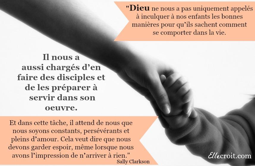 citation le ministère d'une mère sally clarkson ellecroit.com