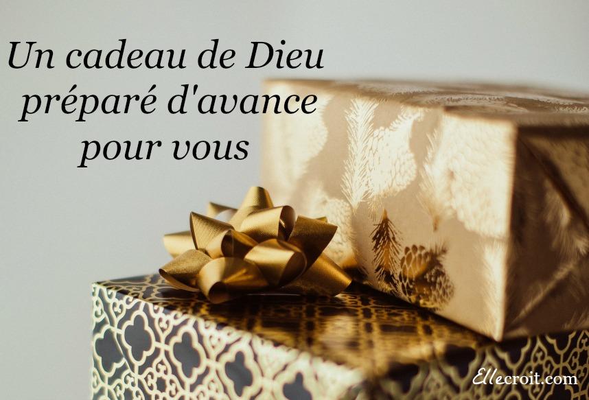 un cadeau de Dieu préparé d'avance pour vous ellecroit.com