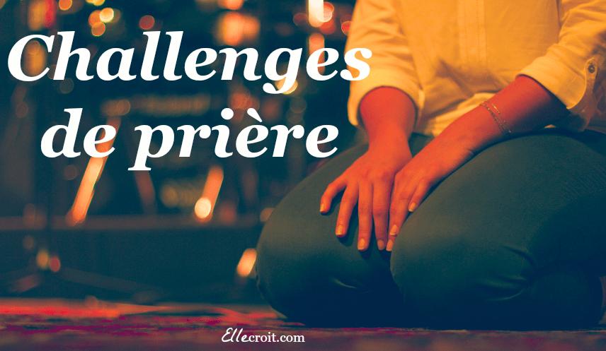 Challenges de prière 2