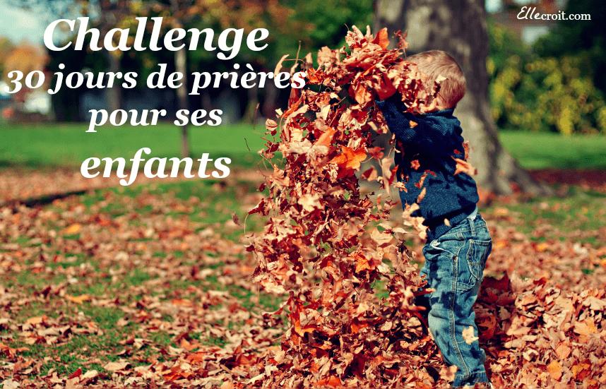 challenge prière enfants ellecroit.com