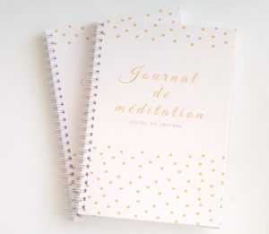 journal de méditation ellecroitcreation.com