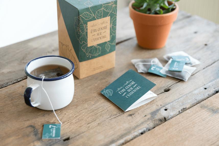 coffret 1 mois Tea Notes Thé bible ellecroit.com