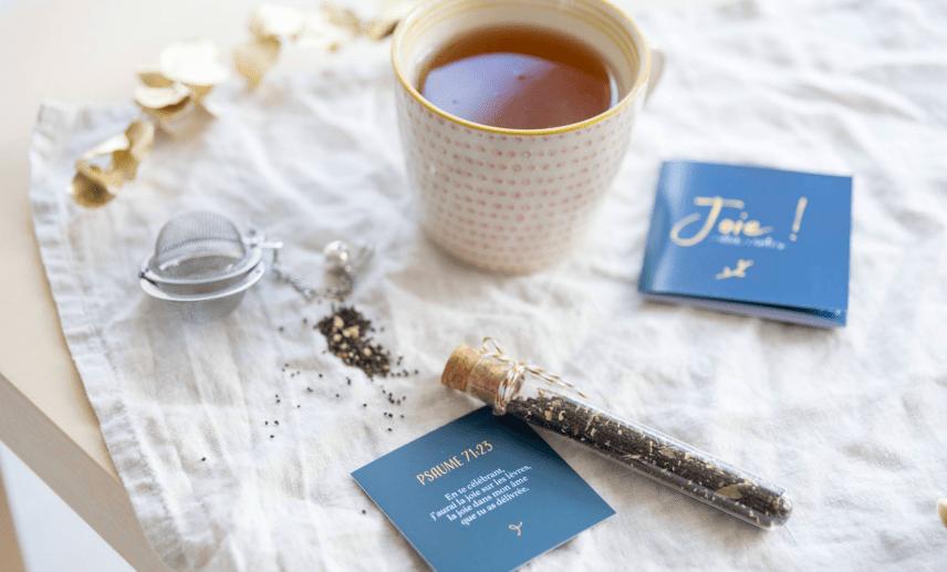 semainier Tea Notes Thé Bible ellecroit.com