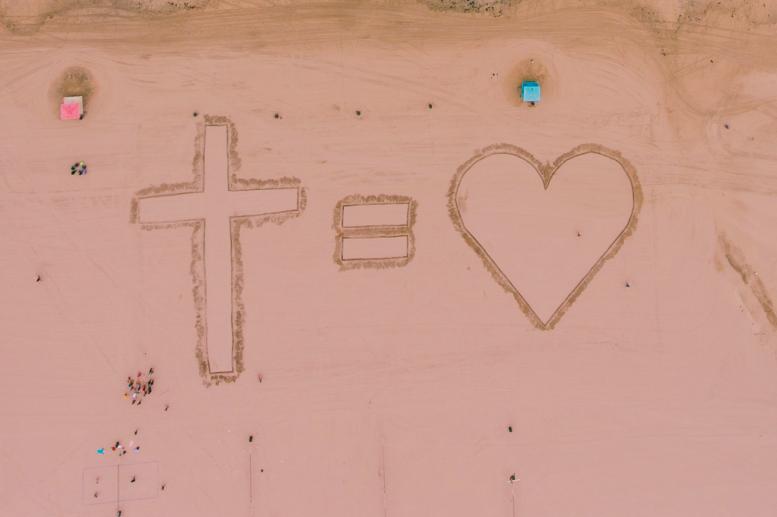 amour croix Jésus pardon ellecroit.com